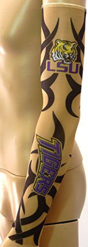 LSU Arm Tattoo Sleeve