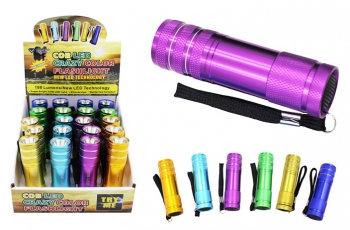 Super Bright COB Flashlight - Crazy Colors