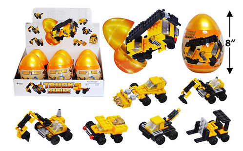 Toy Building Blocks - Jumbo - Construction
