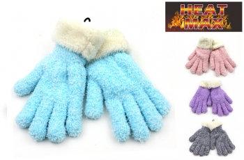 Heat Max® Warm Knit Sherpa Gloves