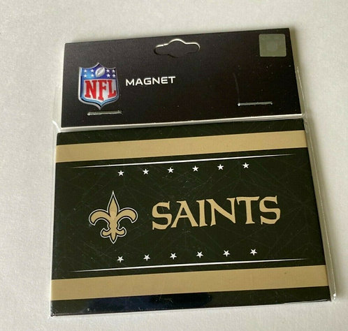 "Saints 3.5"" x 2.5"" Magnet - Geo Style"