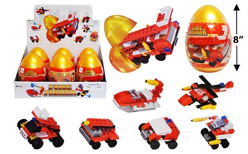Toy Building Blocks - Jumbo - Fire Rescue