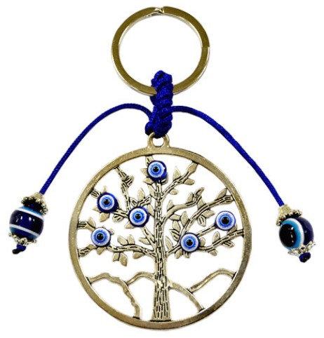 Metal Tree of Life Keychain