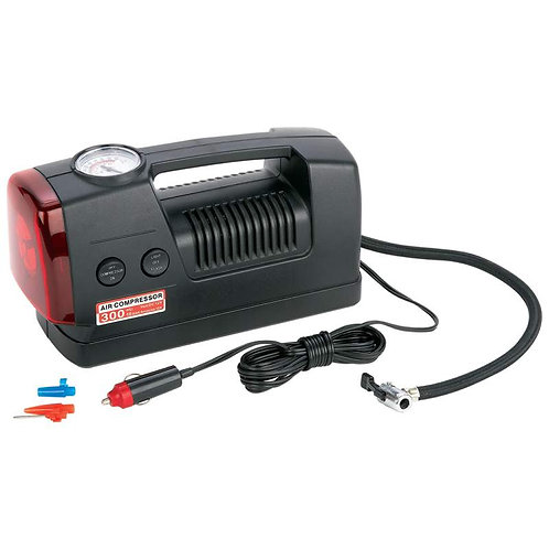Maxam® 3-in-1 300psi Air Compressor and Flashlight