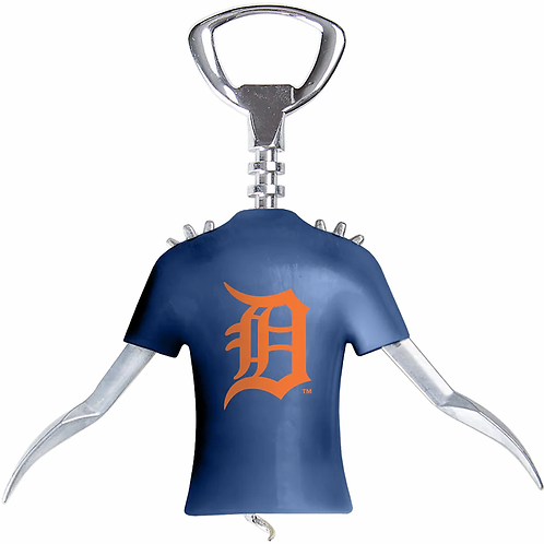 Tigers Winged Corkscrew and Bottle Opener