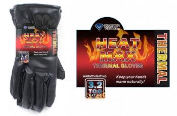 Heat Max® Men's Thermal Dress Gloves