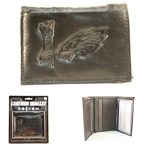 Eagles Leather Tri-Fold Wallet
