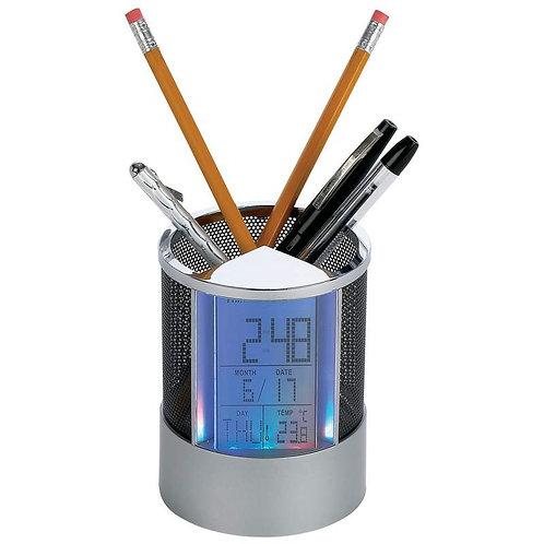 Mitaki-Japan® Pen Holder Clock