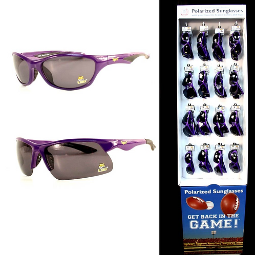 LSU Polarized Sunglass Display