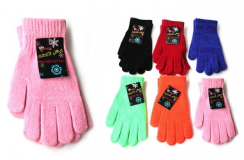 Chenille Stretch Gloves