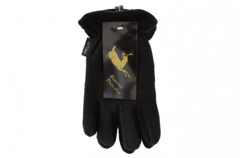 HEATLOK® Deerskin Leather Palm Gloves - Polar Fleece Lining