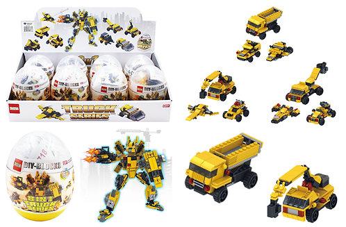 Toy Building Blocks - Medium - Mech 2