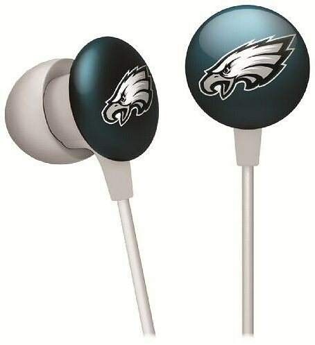 Eagles Microline Earbuds with Microphone & Noise Isolation