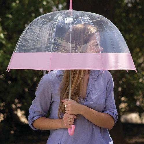 "All-Weather™ 42""  Clear Dome Umbrella"