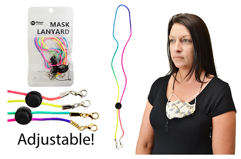 Adjustable Mask Lanyard