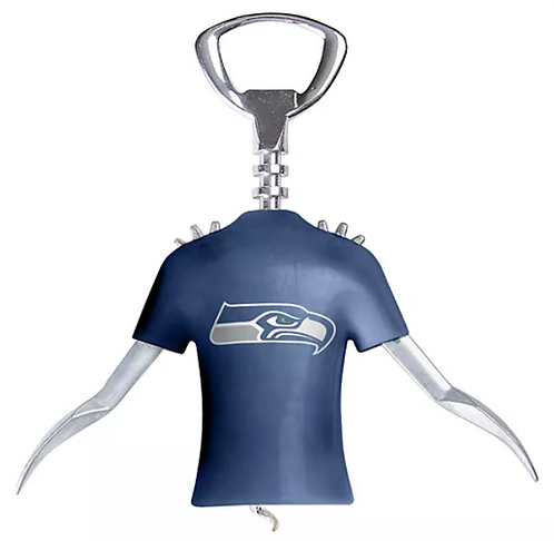 Seahawks Winged Corkscrew and Bottle Opener