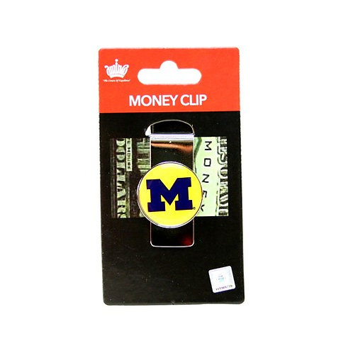 """Wolverines """"The Dome"""" Money Clip"""