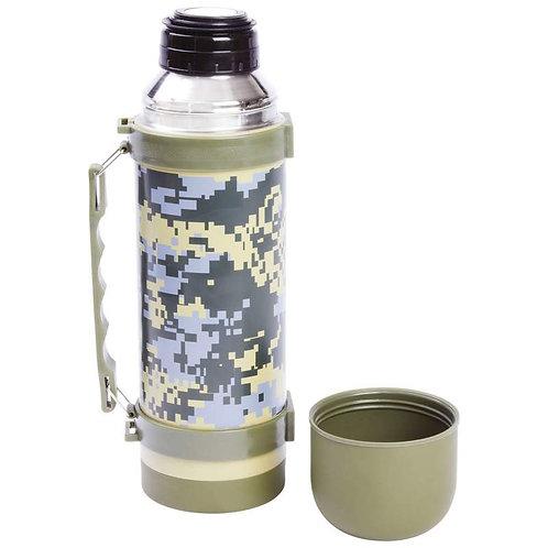 Maxam® 33.8oz (1L) Digital Camo Vacuum Bottle