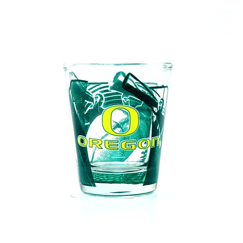 Ducks Hi-Def Shot Glass