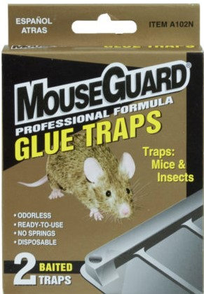 MouseGurard™ Baited Glue Mouse Trap 2-Pack
