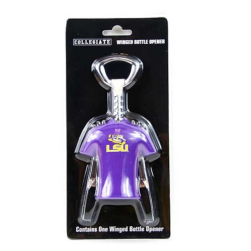 LSU Winged Corkscrew and Bottle Opener