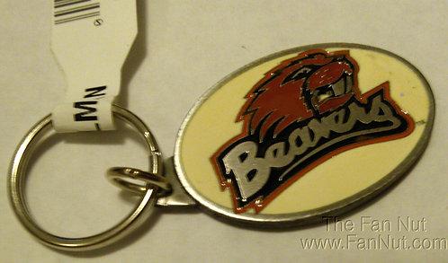 Beavers Pewter Keychain