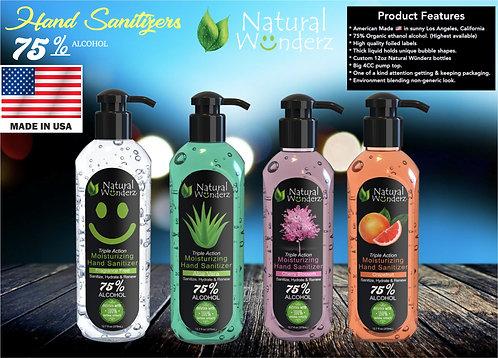 Natural Wunderz Moisturizing Hand Sanitizer Gel - 12oz