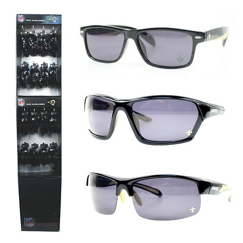 Saints Polarized Sunglass Display