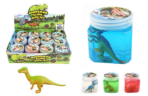 Dinosaur Slime with Toy