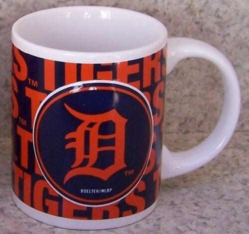 Tigers 11oz Ceramic Wordmark Mug Set