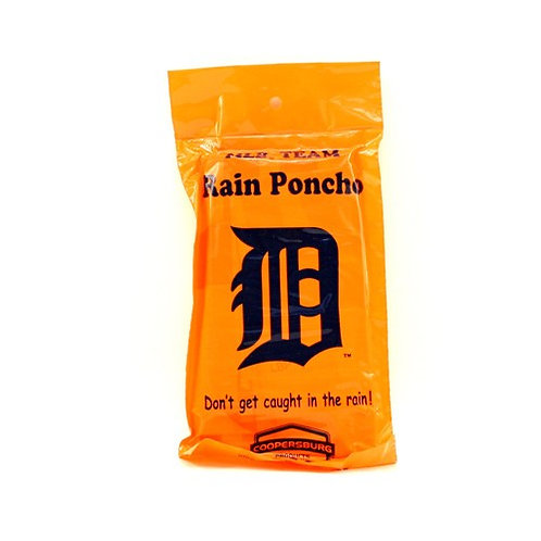 Tigers Gameday Hooded Poncho