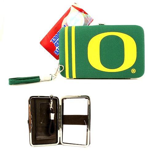 Ducks Distressed Logo Wristlet / Wallet
