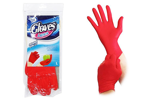 Reusable Latex Gloves - Large