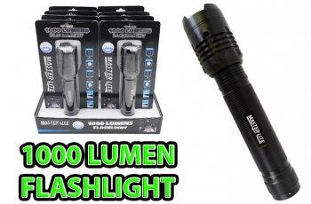 Master Lite® 1,000 Lumen Tactical Flashlight