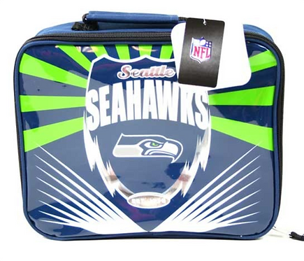 Seahawks Lightning Insulated Lunchbox