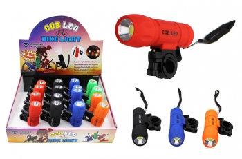 Super Bright COB Bike Light / Flashlight
