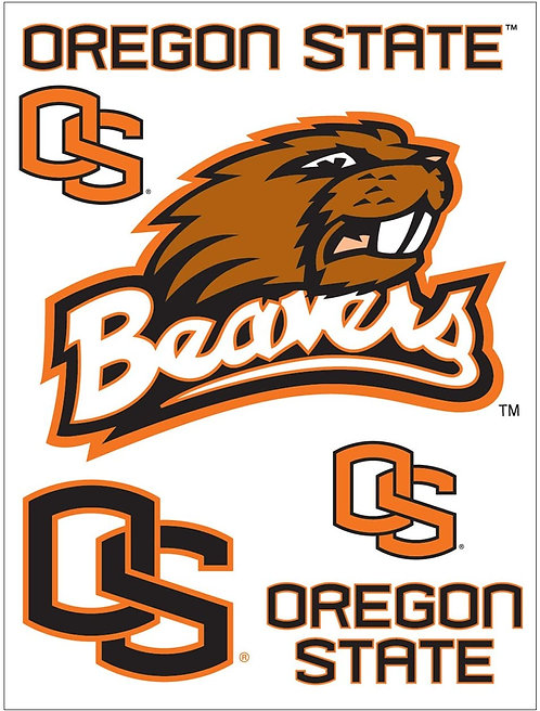 Beavers Removable Laptop Decals