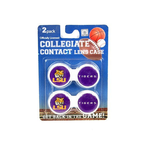 LSU Contact Lens Case 2-Pack
