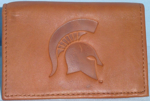 Spartans Leather Tri-Fold Wallets