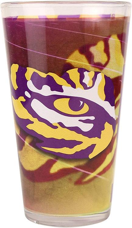 LSU Shadow 16oz 2-Tone Pint Glass