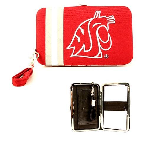 Cougar Distressed Logo Wristlet / Wallet