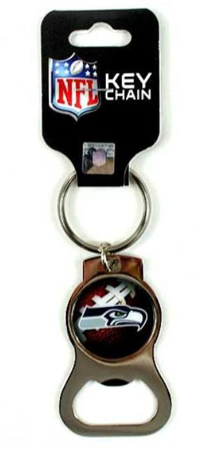 Seahawks Bottle Opener Keychain