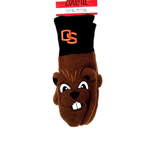 Beavers Mittens - Texting Style