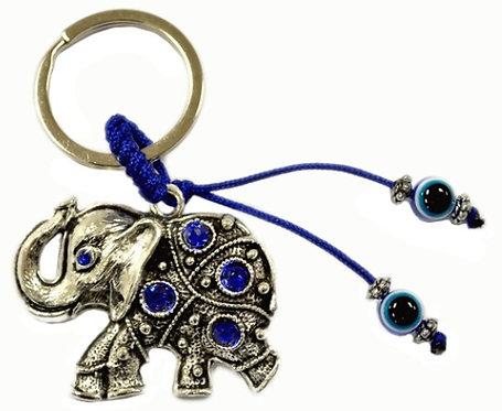 Metal Elephant Keychain