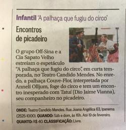 Segundo Caderno- O Globo