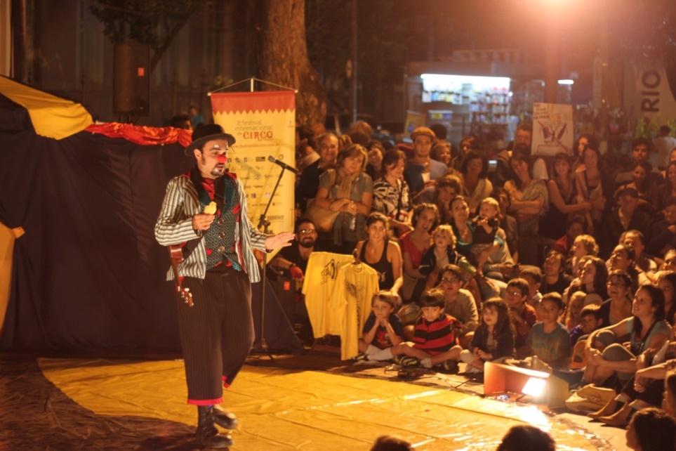 Festival Internacional Circo Palco Aberto