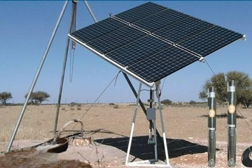 Solar Water Station Project