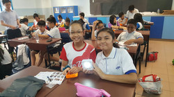 Singapore School kids with lights - Copy