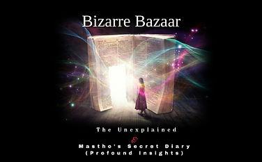 Mastho's Blog Bizarre Bazaar