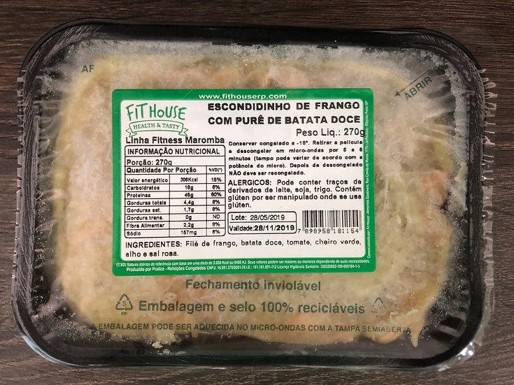 Escondidinho de frango com batata doce - 270g